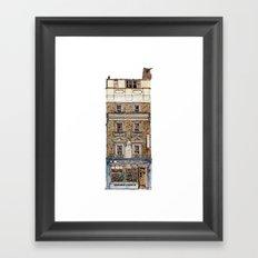 Campkins, Kings Parade, Cambridge, UK Framed Art Print