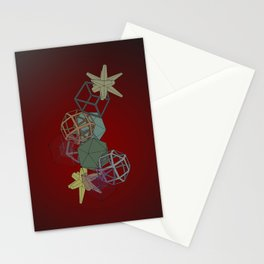 Geo Platonicus Stationery Cards