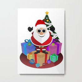 Santa Claus - Christmas Metal Print