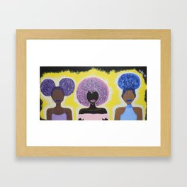 Together We Shine Framed Art Print
