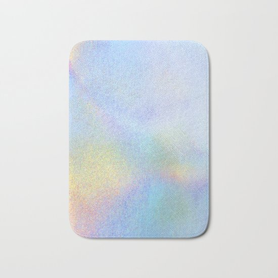 Holographic Iridescence Bath Mat
