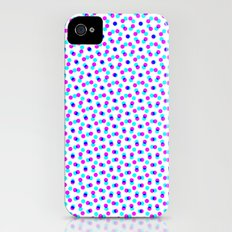 PINK & BLUE DOT iPhone (4, 4s) Slim Case