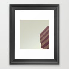 round corner Framed Art Print