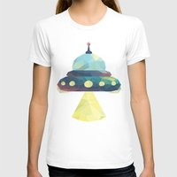 spaceship T-shirts featuring Spaceship. by Dani Does Art