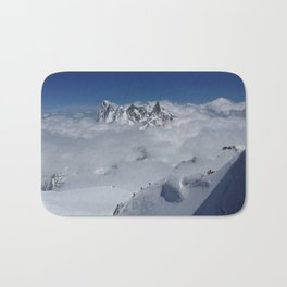 Aiguille du Midi, Cloud Walkers Bath Mat