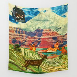 Priorities (Populace) Wall Tapestry