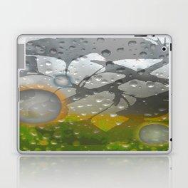 Ginkos in the Rain Laptop & iPad Skin