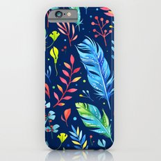 Feathers Pattern 02 iPhone 6s Slim Case