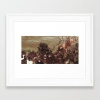kozyndan Framed Art Prints featuring Because of Me, I Lay to Rest with You by kozyndan