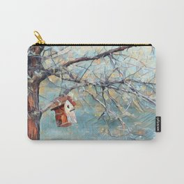 A Chickadees Home Carry-All Pouch