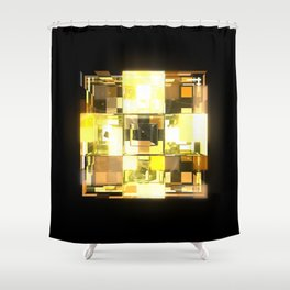 My Cubed Mind: Frame 001 Shower Curtain
