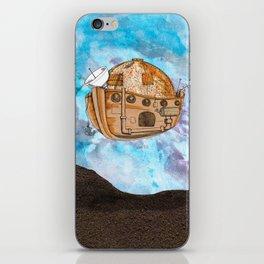 Nave : viagem no tempo iPhone Skin