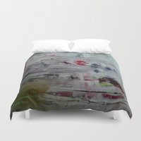 imagerybydianna Duvet Covers featuring orchid mist by Imagery by dianna