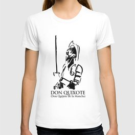 Don Quixote (Don Quijote de la Mancha) T-shirt