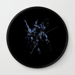 Blue GDM Wall Clock