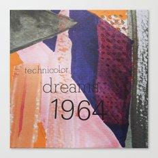 Technicolor Dreams Canvas Print