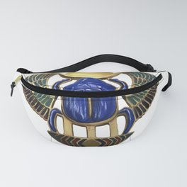 Painted Egyptian Necklace Fanny Pack
