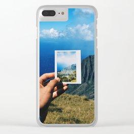 Kauai, Hawaii Clear iPhone Case