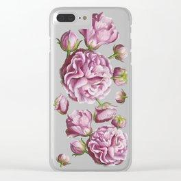 Rose garden III Clear iPhone Case