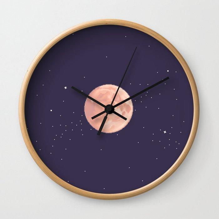 Supermoon Wall Clock