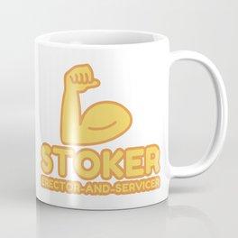 STOKER ERECTOR-AND-SERVICER - funny job gift Coffee Mug