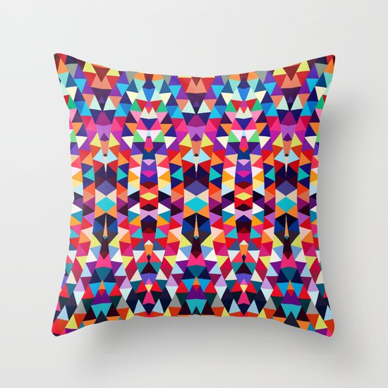Mix #321 Throw Pillow by Ornaart Society6
