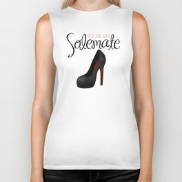 You're My Solemate Biker Tank