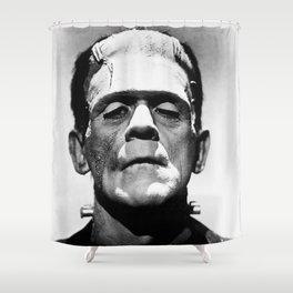 Frankenstien | Franky | Horror movies | Munsters | Gothic Aesthetics Shower Curtain