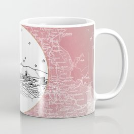 Zagreb, Croatia City Skyline Illustration Drawing Coffee Mug