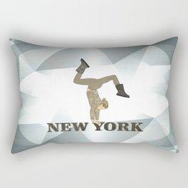Gymnastics New York Rectangular Pillow