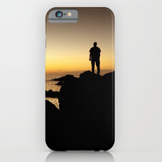 Sunset Silhouette iPhone & iPod Case