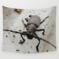 beetle Wall Tapestries featuring Beetle by Bor Cvetko