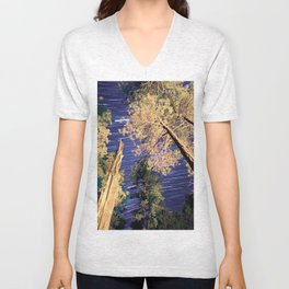 Startrails Unisex V-Neck