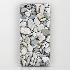 Grey pebbles iPhone & iPod Skin