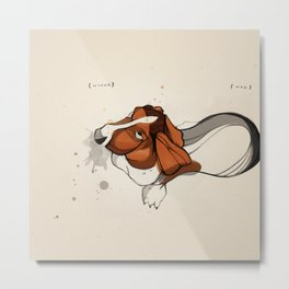Clancy Berry ( 2002 - 2010 ): Whine // Wag Metal Print