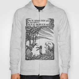 William Blake Illustration Hoody