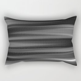 Soft, Dreamy Black White Rectangular Pillow