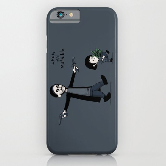 Leon and Mathilda iPhone & iPod Case