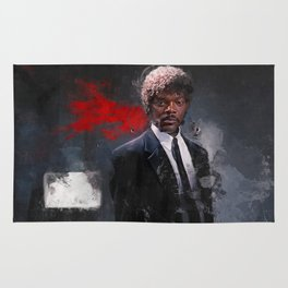 Jules Winnfield Witnesses A Miracle - Pulp Fiction Rug