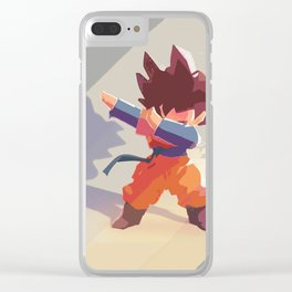 Dabmaster Gotenks Clear iPhone Case