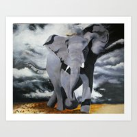 rebel Art Prints featuring Rebel by Purcell Paintings