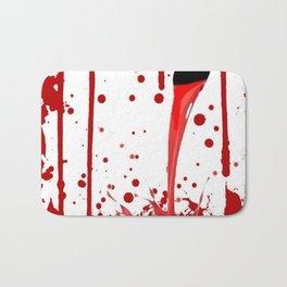 BLEEDING RED ART Bath Mat