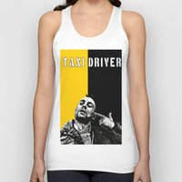 taxi driver Tank Tops featuring Travis Bickle Taxi Driver by Maxim Garg