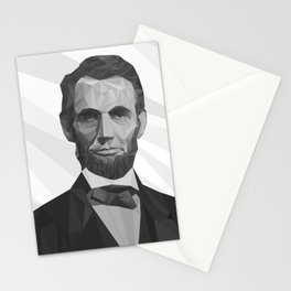 Abraham - vector Stationery Cards