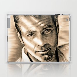 George Clooney II Laptop & iPad Skin