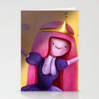 princess bubblegum Stationery Cards featuring Princess Bubblegum by Niniel