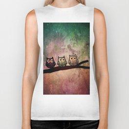 owl 187 Biker Tank
