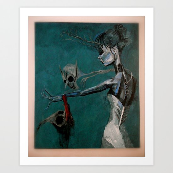 strange women Art Print