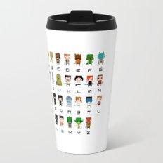 Star Wars Alphabet Travel Mug