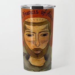 St. Francis of Assisi Travel Mug